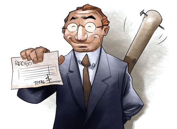 Colaboración gratis: Al pagar tus facturas, presenta el artículo con el que colaboraste gratis.
