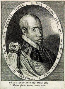 El príncipe Juan Andrea Doria fue el encargado de mandar la flota de la guerra contra Argel