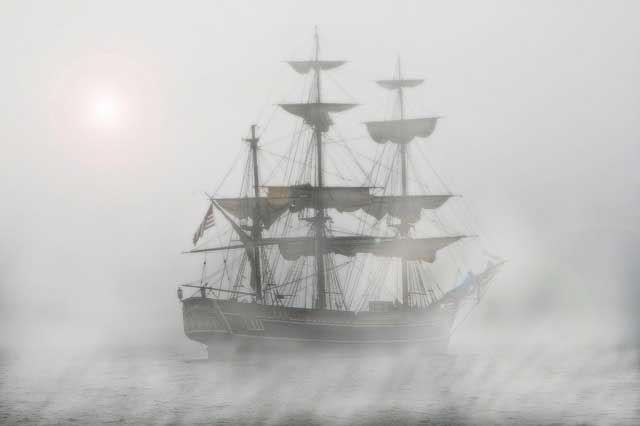 La guerra contra Argel se vio truncada por una espesa niebla