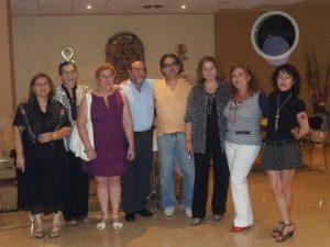 Cena de despedida con algunos alumnos del curso 2008