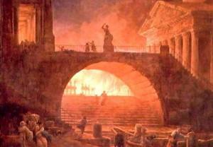Los incendios eran habituales en Roma