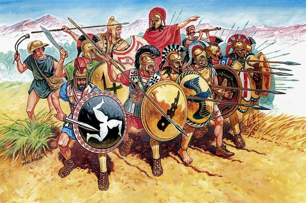 Las Guerras Mesenias, el origen del mito de los espartanos