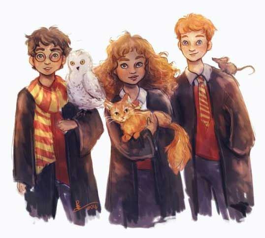 El motivo del éxito de Harry Potter: los personajes