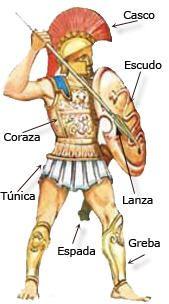 Las guerras mesenias: el soldado hoplita