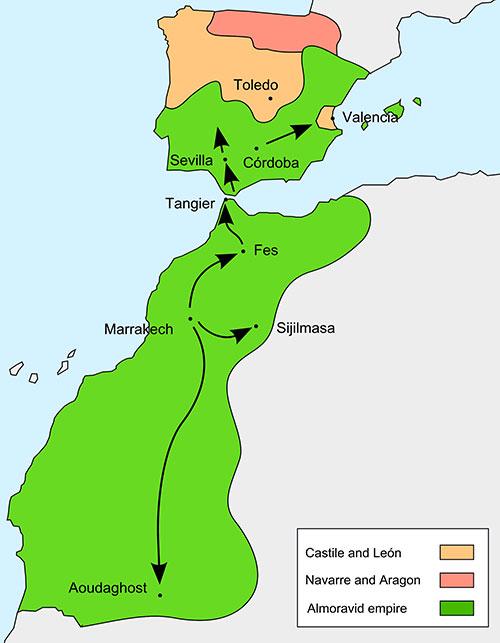 podcast de historia: las rutas caravaneras del siglo XI