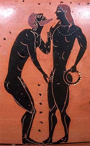 Aquiles y Patroclo: la Pederastia
