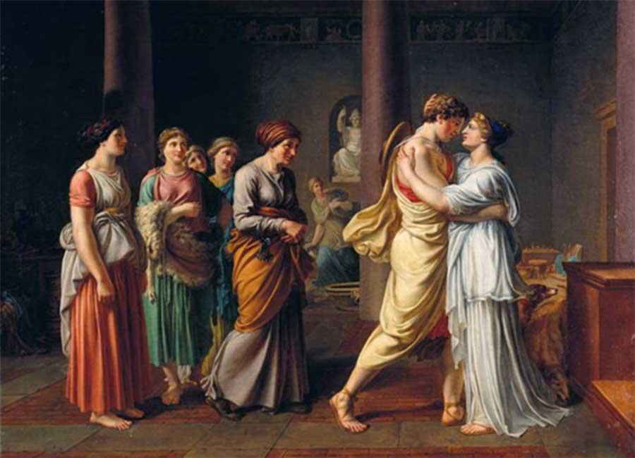 Ulises y Penélope: Historias de amor míticas
