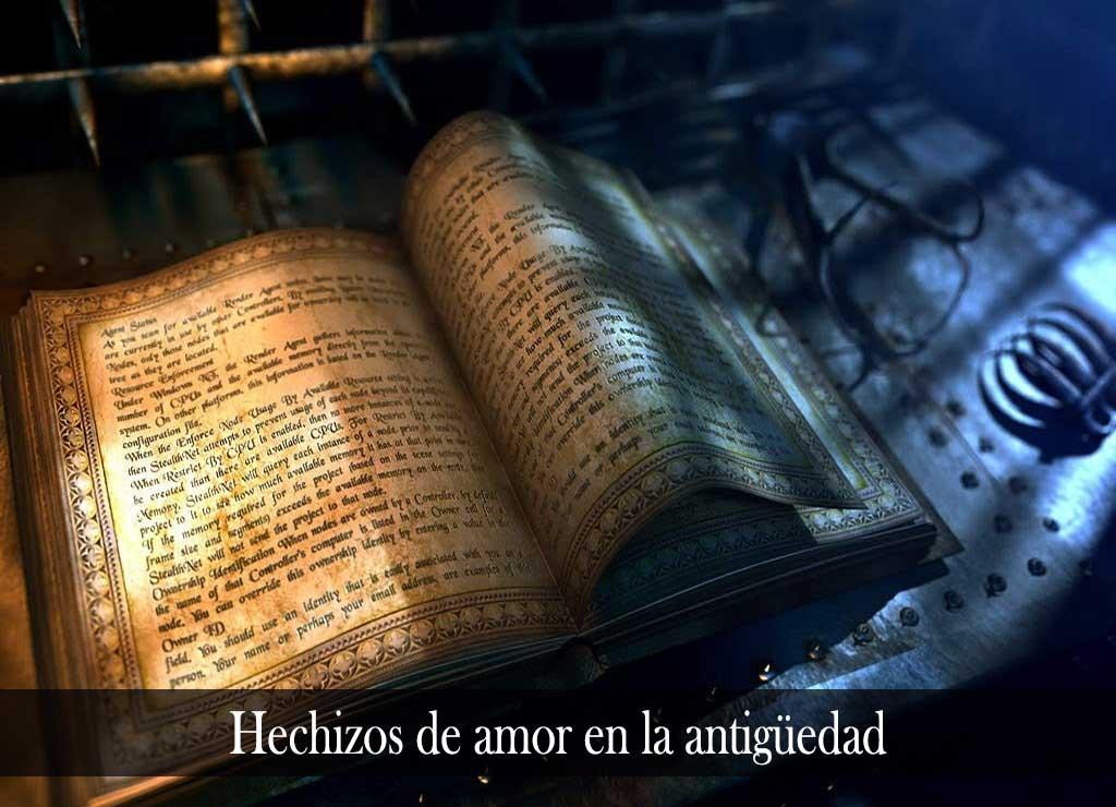 Los hechizos de amor en la antigüedad