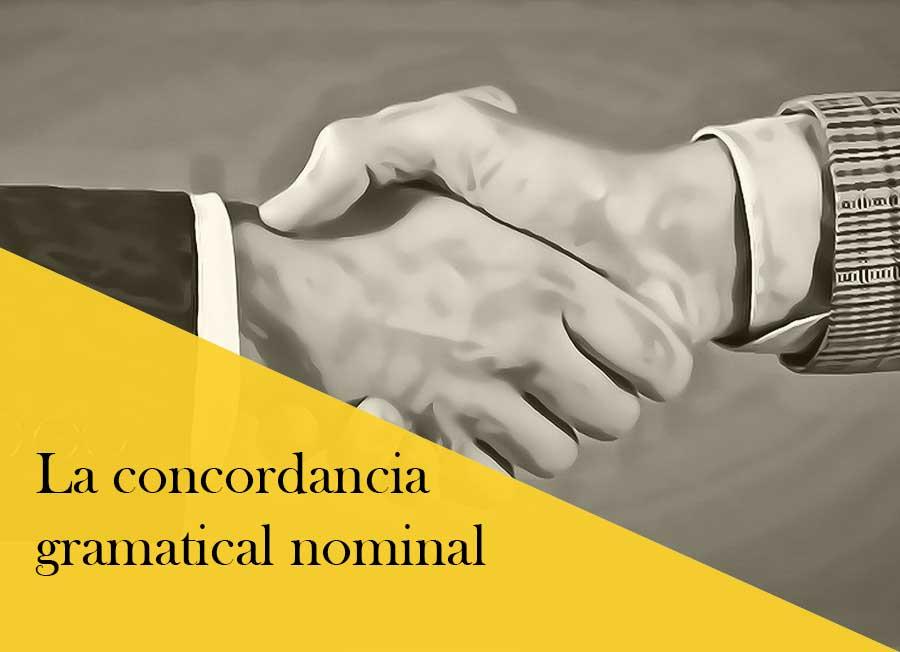 La concordancia nominal, cómo usarla correctamente