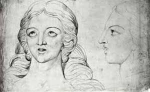 Corina imaginada por William Blake