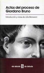 Actas del proceso de Giordano Bruno
