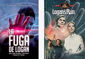 Portadas de La fuga de Logan