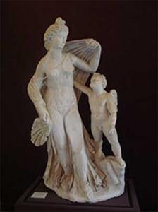 Eros y las bodas de Tetis y Peleo