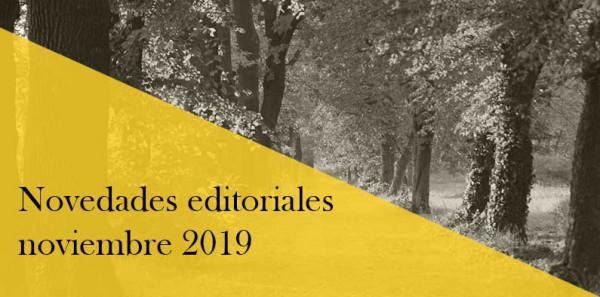 Novedades editoriales noviembre 2019: Cercas, King y Martin