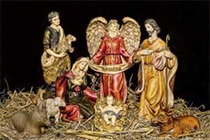 El origen de la navidad: representación tradicional