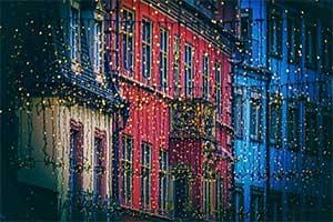 El origen de la navidad: el motivo de la iluminación en las calles