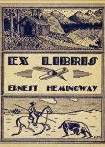 Exlibris de Ernest Hemingway