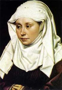 Retrato de Hadewijch de Amberes
