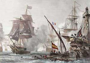 La guerra con Inglaterra y la batalla de Algeciras