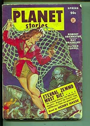 Revista donde se publicó a Ray Bradbury