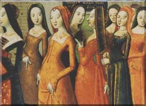 Las trobairitz y la comtessa de Dia