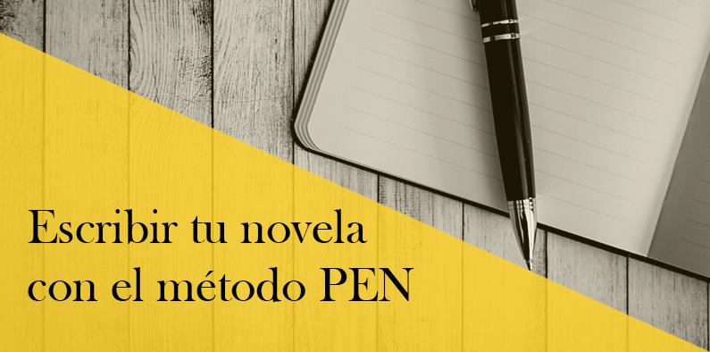 Escribir tu novela con el método PEN